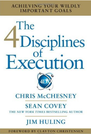 4 Disciplines of Execution book resized 600