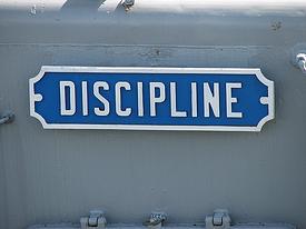 Discipline sign resized 600