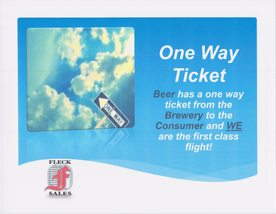 Fleck One Way Ticket   2013 1st Trimester Theme resized 600