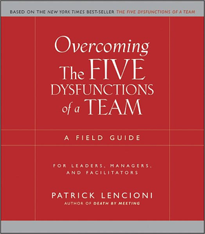 Overcome Five Dysfunctions of a team Book resized 600