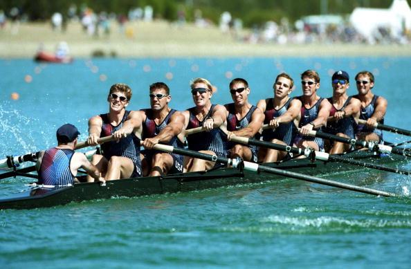 Rowers Teamwork
