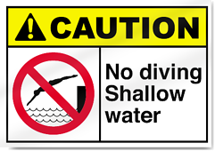 Shallow Water No Diving Sign resized 600