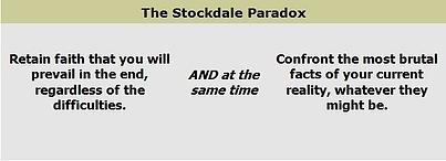 Stockdale Paradox