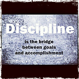 Discipline Bridge Between Goal