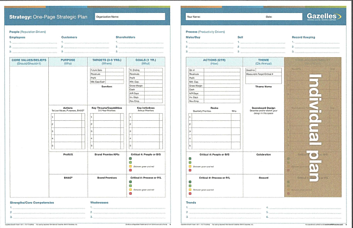 One Page Strategic Plan   Individual Plan resized 600