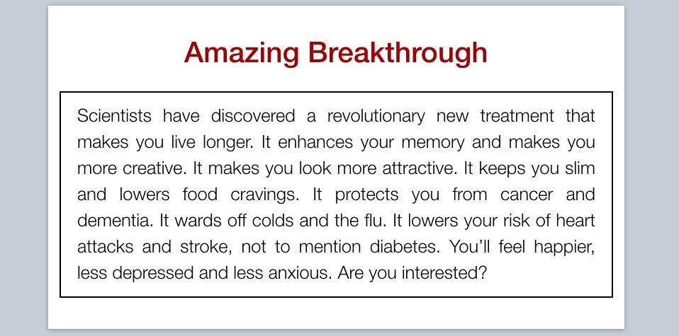 Amazing Breakthrough - Why We Sleep