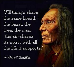 Chief Seattle Quote on Same Breath