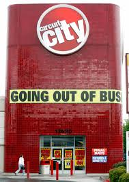 Circuit City Going out of Business