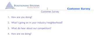 Customer Survey (PS)