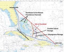 El Faro - Old Bahama Channel vs Atlantic Rte