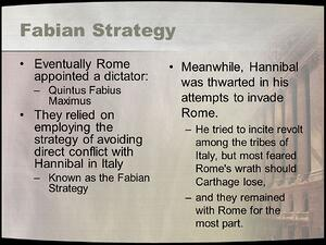 Fabian+Strategy+Eventually+Rome+appointed+a+dictator_
