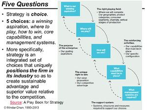 Five+Questions+Strategy+is+choice Playing to Win.