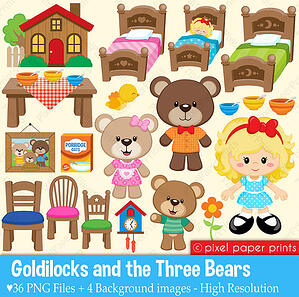 Goldilocks & 3 Bears