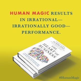Human Magic Hubert Joly Heat of Business
