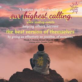 Leadership-highest-calling-helping-others-become-best-version-Monty-Moran-Quotes