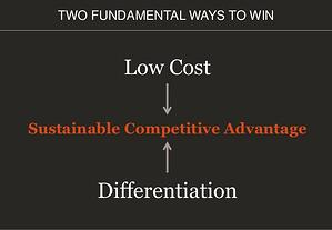 Low Cost - Differentiation Playing to Win-1
