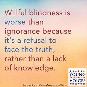 Margaret Heffernan Willful Refusal to face the truth quote