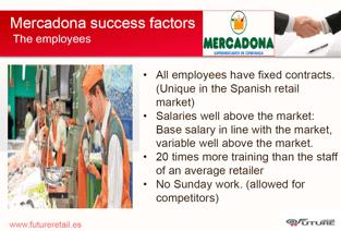 Mercadona Success Factors - Employees