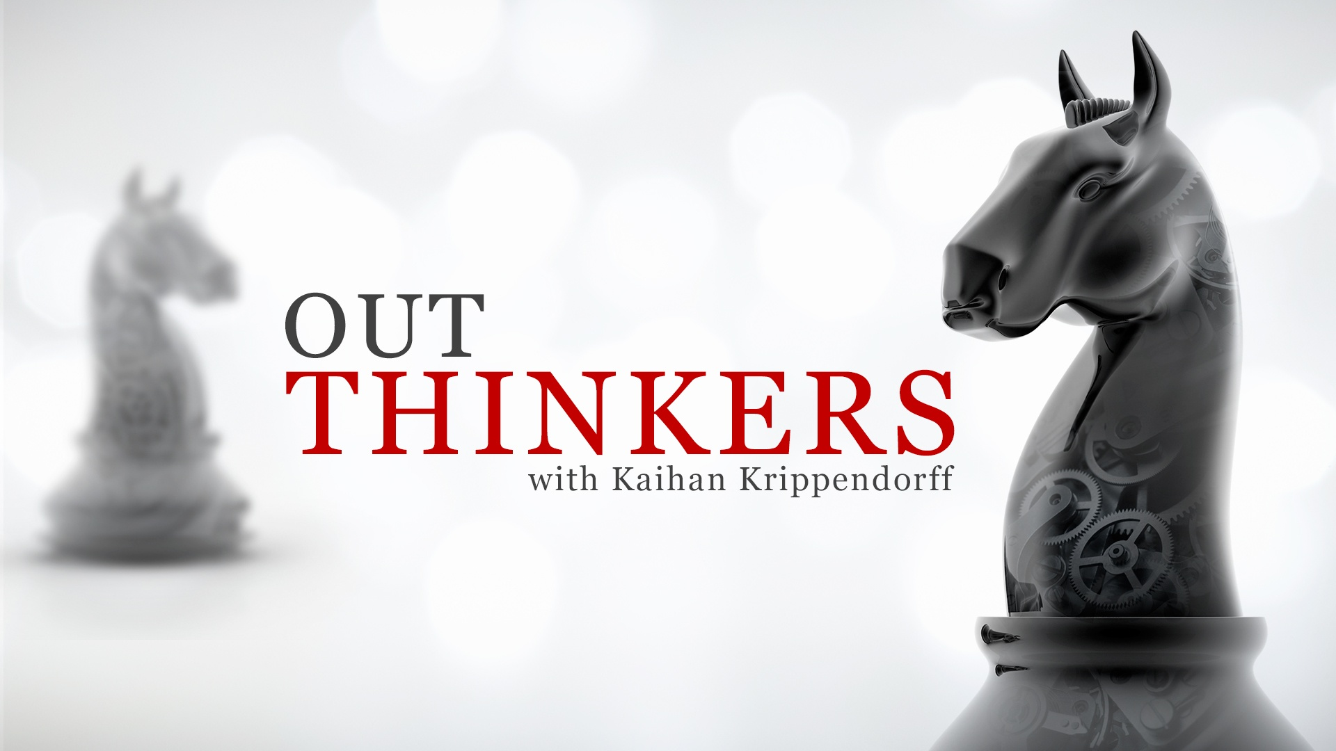 Outthink the Competition Chess Piece