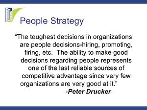 Peter Drucker People Quote