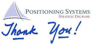 Positioning Systems Thank You