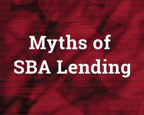 SBA Myths