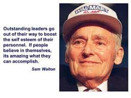 Sam Walton Great leaders quote