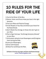 The Energy Bus - Ten Rules for Life