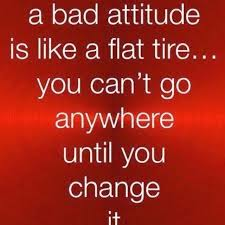 The Energy Bus Quote - Bad Attitude Like a Flat Tire-1