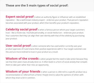 Types-of-social-proof Consensus - Robert Cialdini