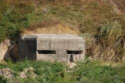 10636353-Pillbox-Part-of-Kiev-defense-line-in-WW2-time--Stock-Photo-bunker-war