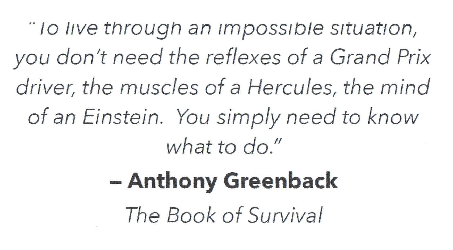 Book of Survival quote Need to Know What to Do.jpg