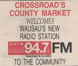 Crossroads Co Mkt Welcomes 94.7 WOFM-FM.jpg