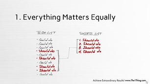 Everything Matters Equally - The One Thing.jpg