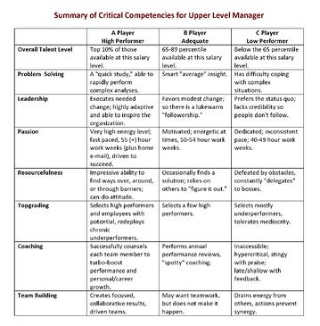Summary-of-Critical-Competencies-for-Upper-Level-Manager