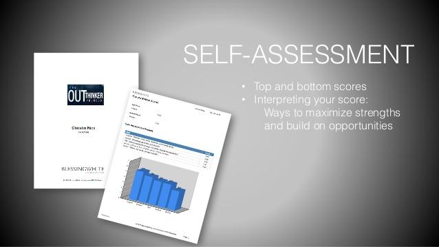 outthinker Self Assessment